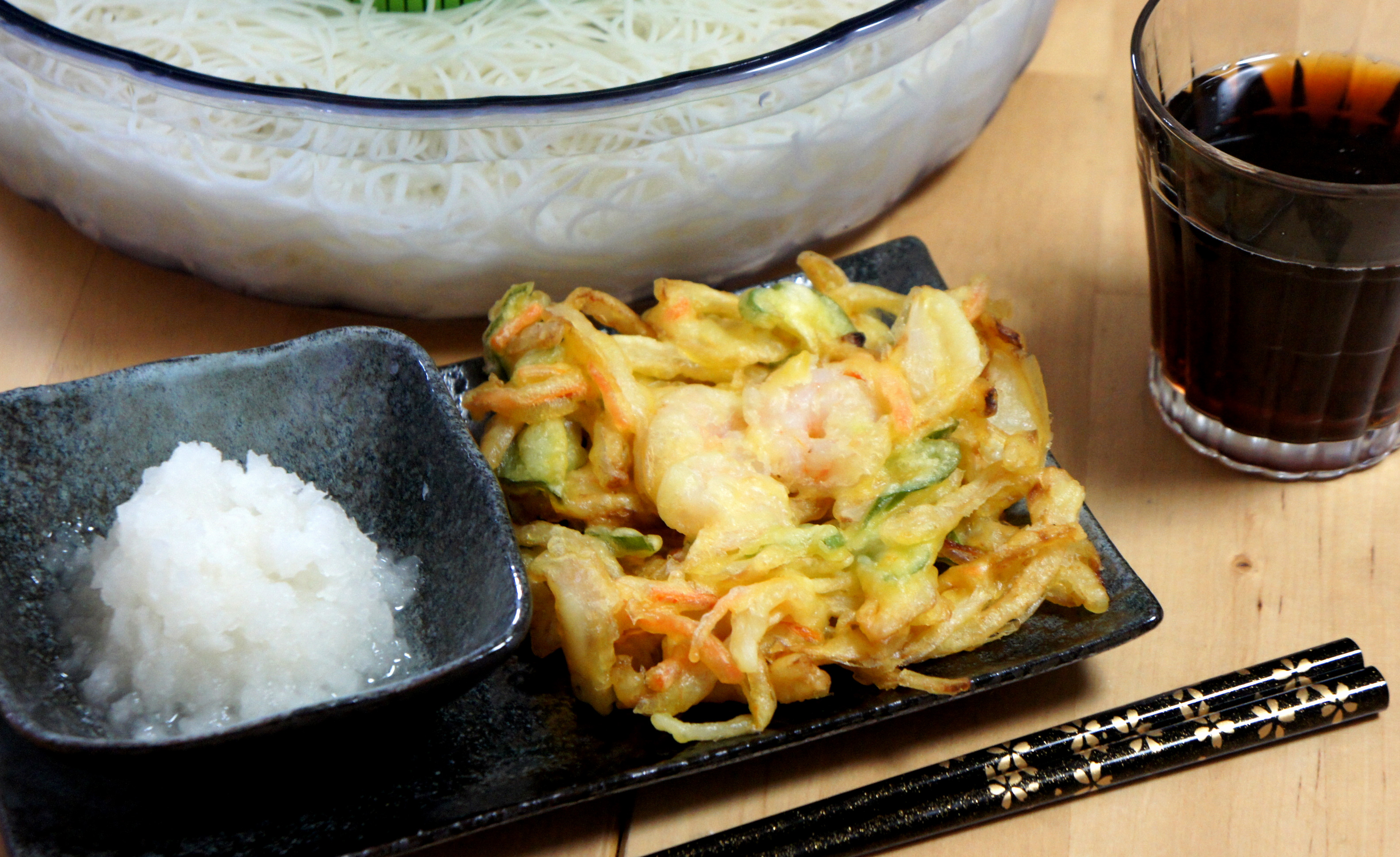 天ぷらかき揚げ